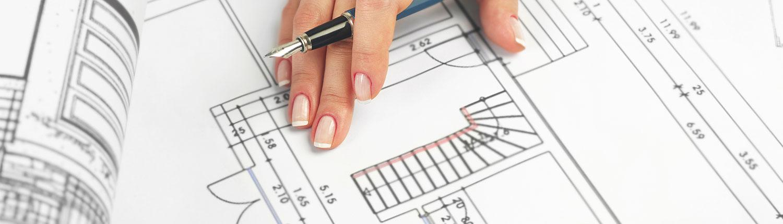 grondplan voor nieuwbouw