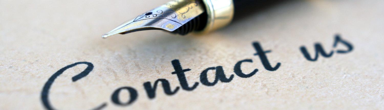 foto met pen en contact