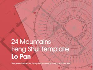 Lo Pan 24 Mountains template Feng Shui An Sterken